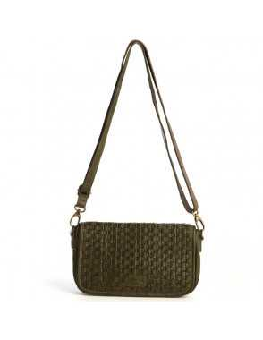 Bolso Day & Night Monpiel Soul Verde Frontal MONPIEL