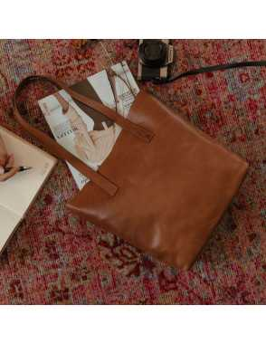 Basic Shopper Bag - Cuero