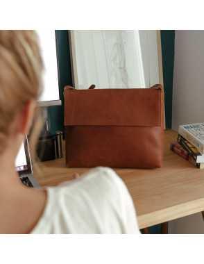 Basic Flap Bag - Cuero