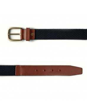 Men Elastic Belt - Marino