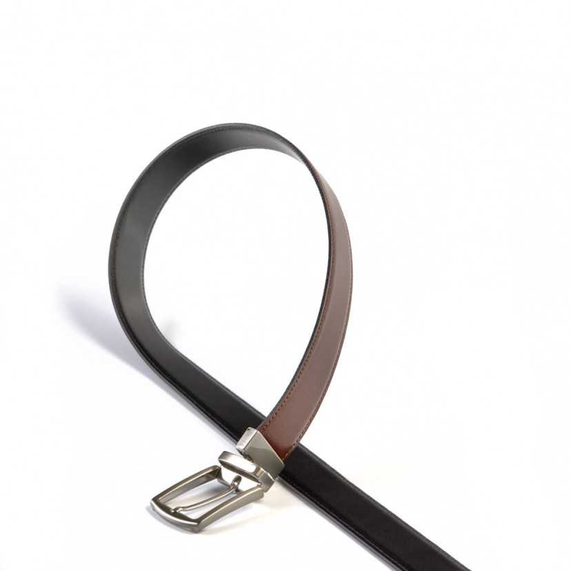 Cintura uomo reversibile