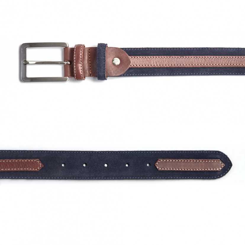 Cintura in camoscio con cinturino
