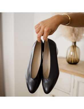 Scarpe Ballerine con Tacco...