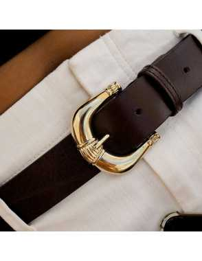 Lady Leather Belt with...