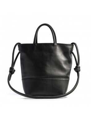 Large Hobo Bag Knots - Black