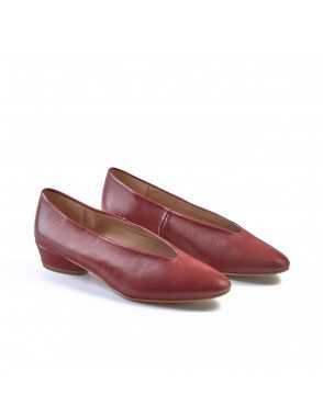 Ballerina Shoe with Heel...