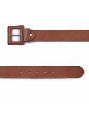Cinturón de piel ancho...