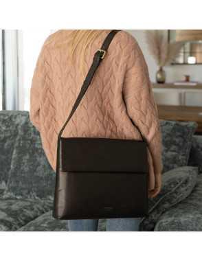 Basic Flap Bag - Black