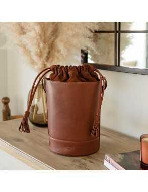 Round Bucket Bag - Habana