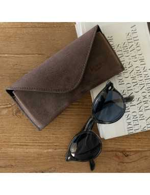 Basic Leather Glasses Case