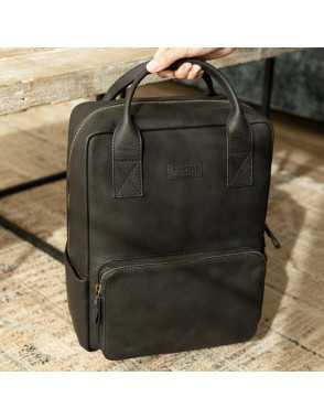 Men's leather backpack...