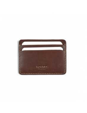 Leather card holder Mini -...