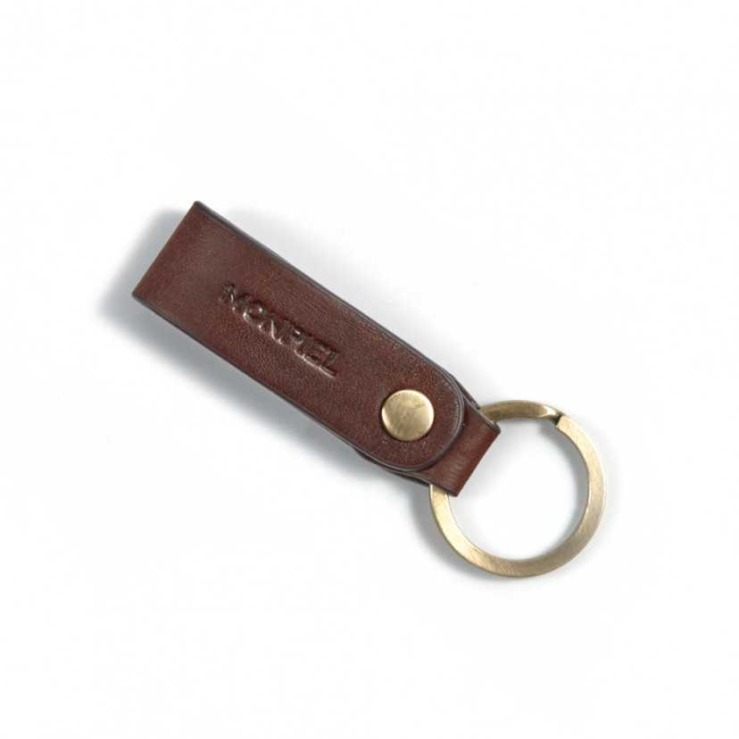 Leather keyring Hunter