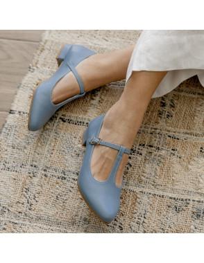 Mary Jane Shoes MARIETA - Blue