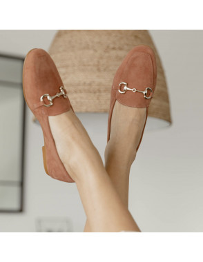 Suede loafers for woman...