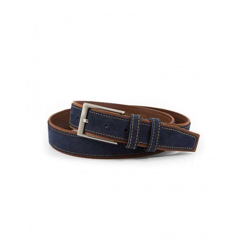profesional de venta caliente ofertas exclusivas último vendedor caliente Cinturón Serraje hombre | Cinturones de cuero